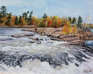 This water course is part of the Trent-Severn Waterways in Ontario