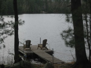 This a picture of our dock