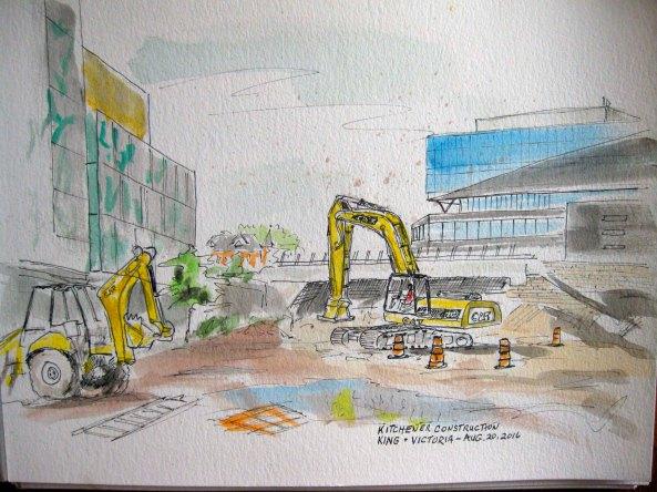 Kitchener construction
