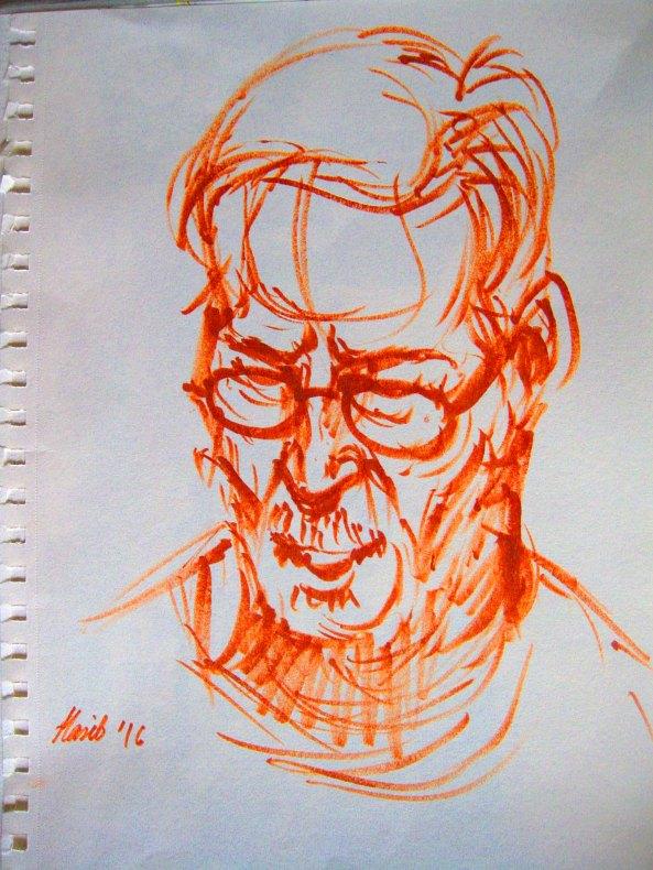 sketch by Hasib