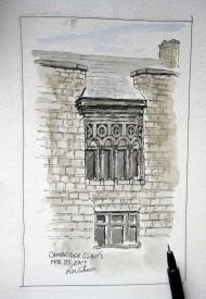 Watercoloured facade in Galt